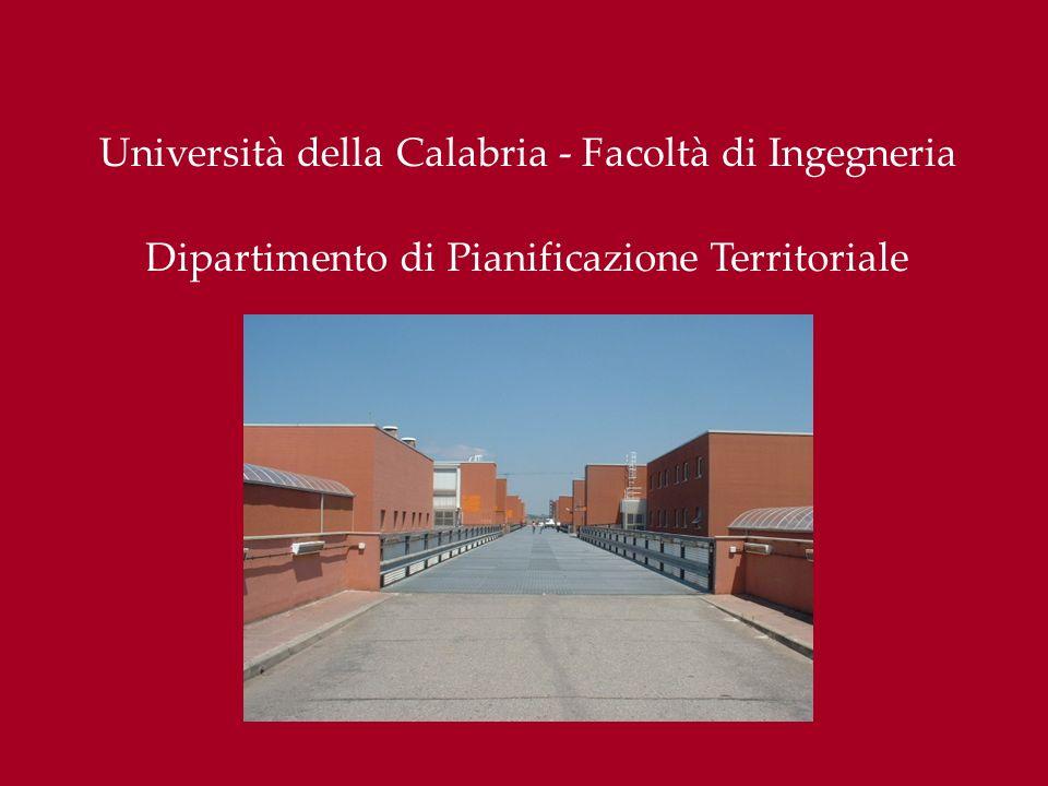 Università della Calabria - Facoltà di Ingegneria
