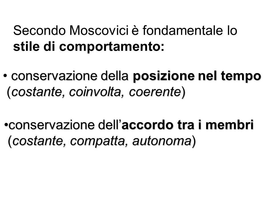 Secondo Moscovici è fondamentale lo