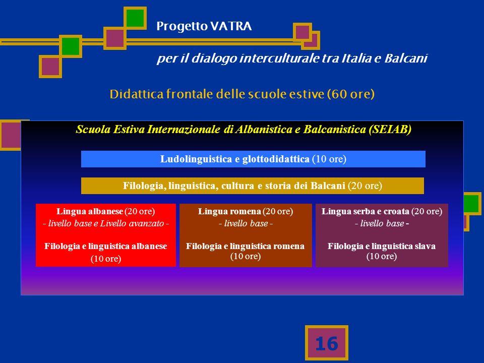 per il dialogo interculturale tra Italia e Balcani