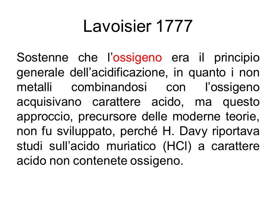 Lavoisier 1777