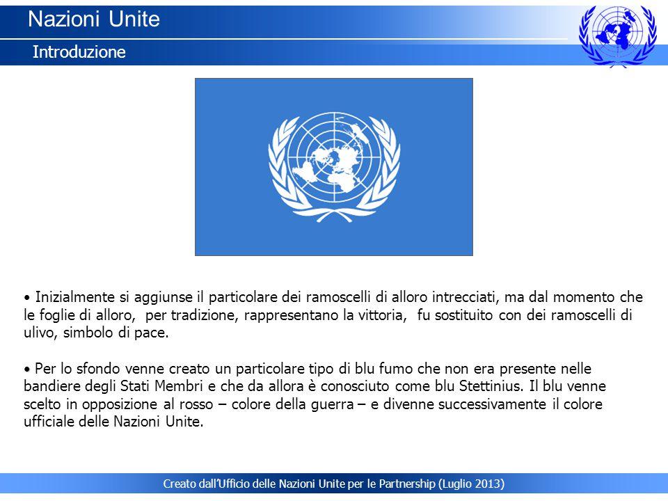 Nazioni Unite Introduzione