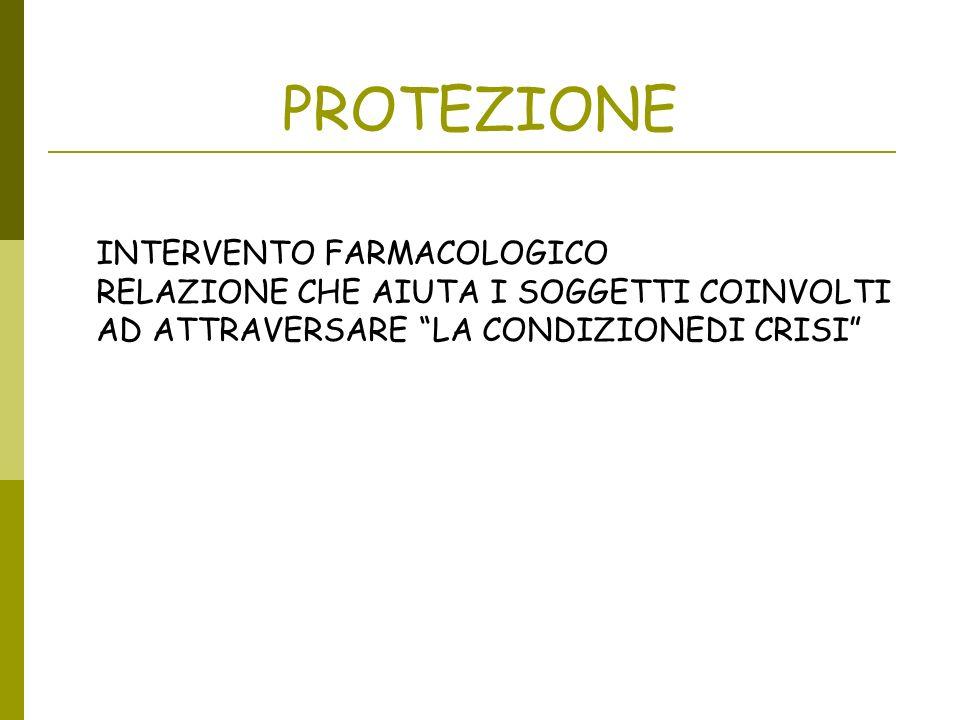 PROTEZIONE INTERVENTO FARMACOLOGICO