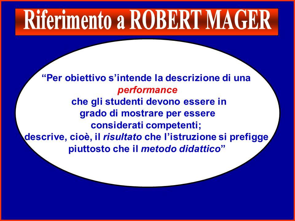 Riferimento a ROBERT MAGER
