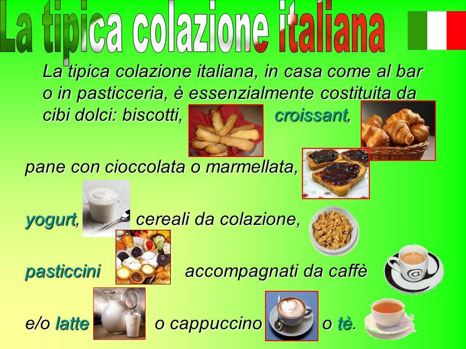 La tipica colazione italiana
