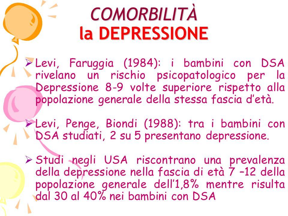 COMORBILITÀ la DEPRESSIONE