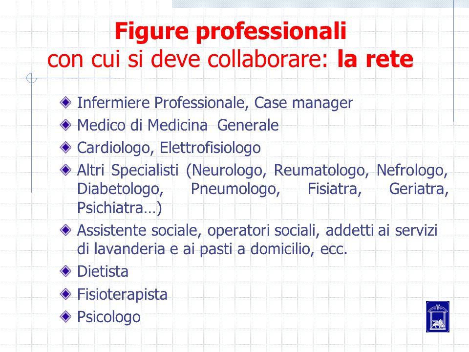 Figure professionali con cui si deve collaborare: la rete