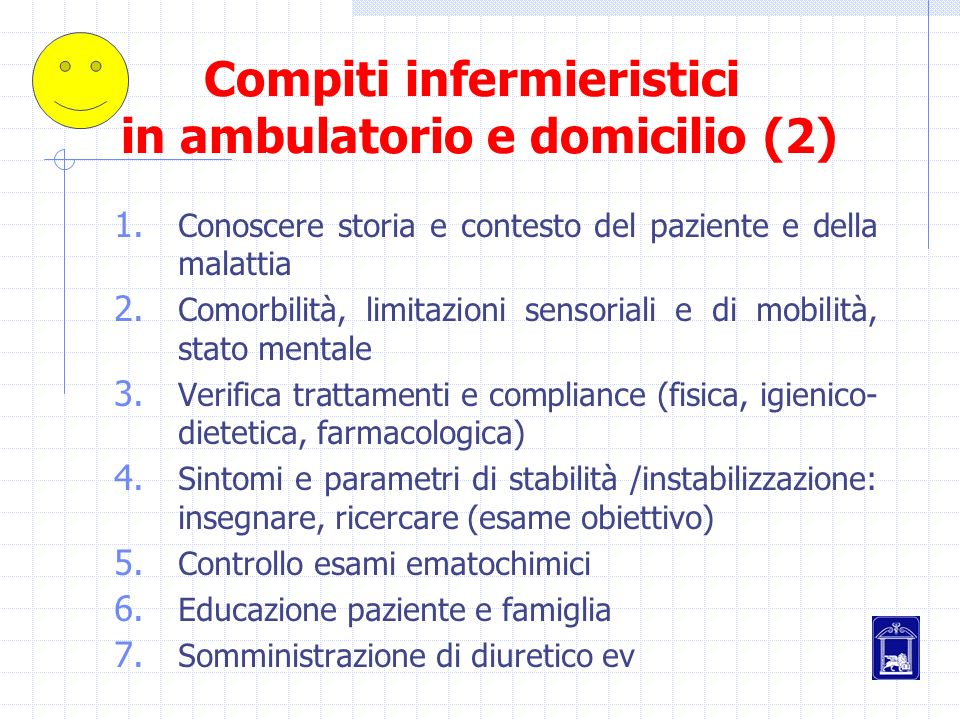 Compiti infermieristici in ambulatorio e domicilio (2)