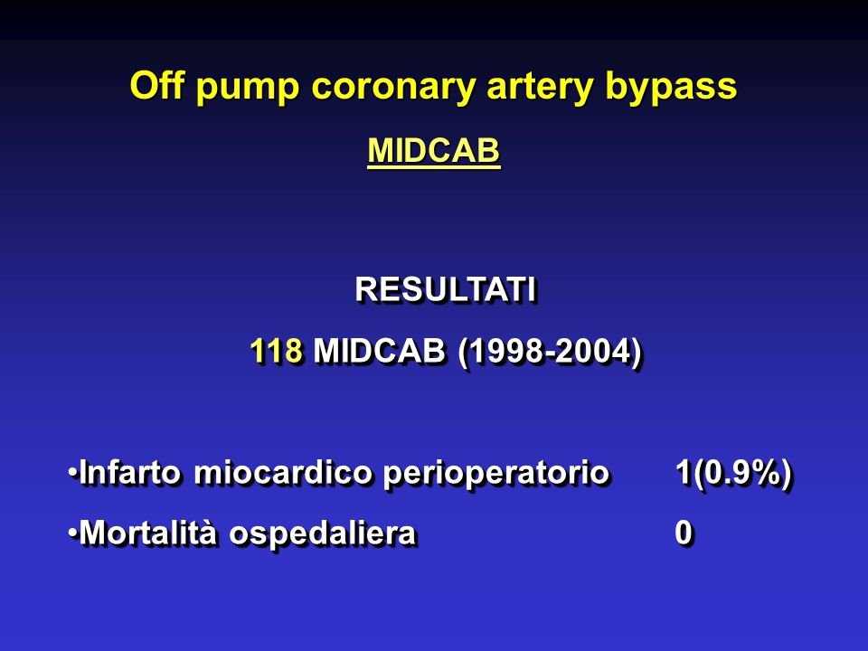 Off pump coronary artery bypass