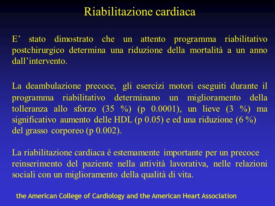 Riabilitazione cardiaca