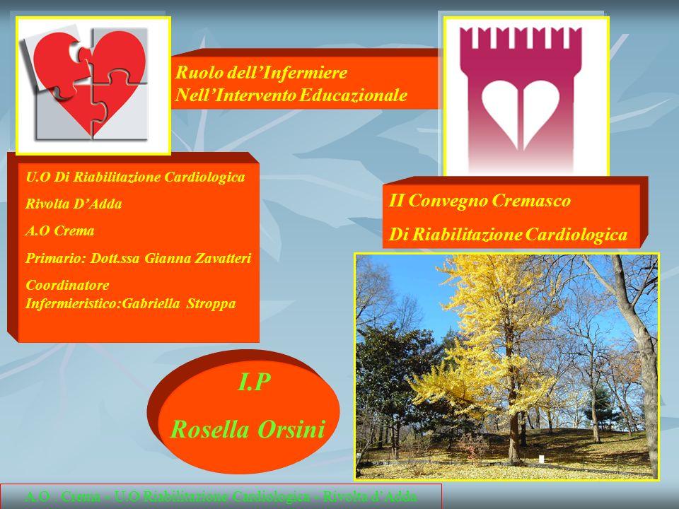A.O . Crema - U.O Riabilitazione Cardiologica - Rivolta d'Adda