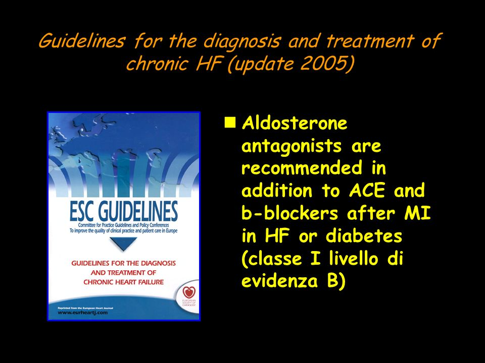 Guidelines for the diagnosis and treatment of chronic HF (update 2005)