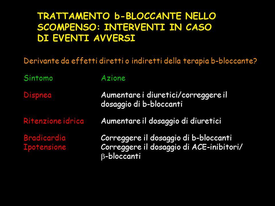 TRATTAMENTO b-BLOCCANTE NELLO