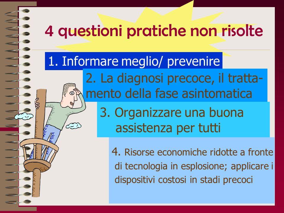 4 questioni pratiche non risolte