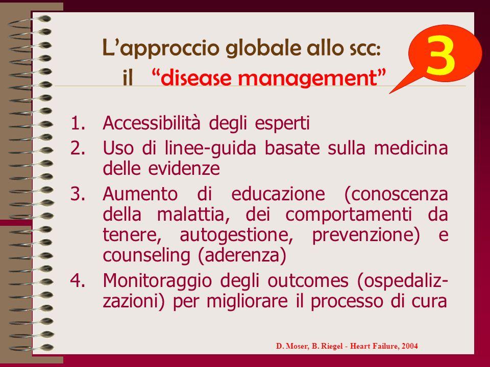 L'approccio globale allo scc: il disease management