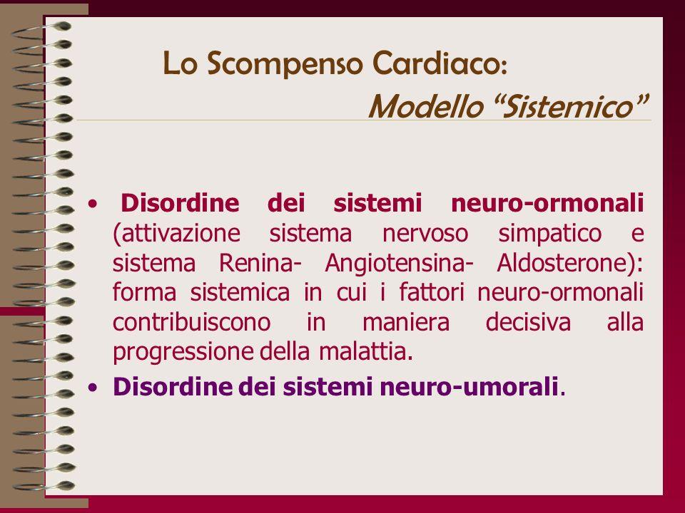Lo Scompenso Cardiaco: Modello Sistemico