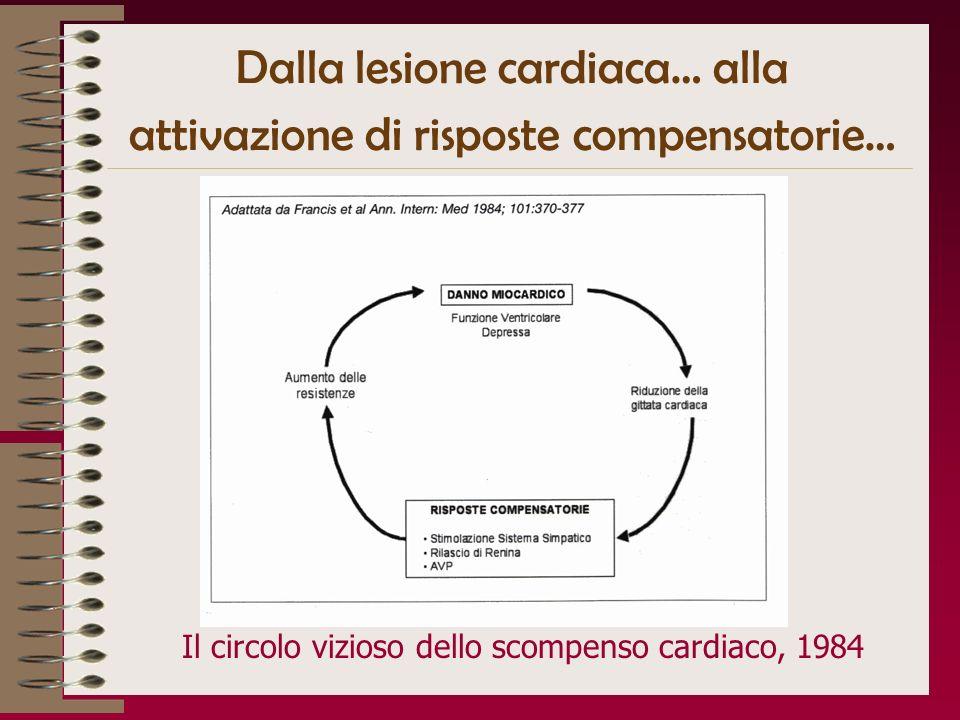 Dalla lesione cardiaca… alla attivazione di risposte compensatorie…