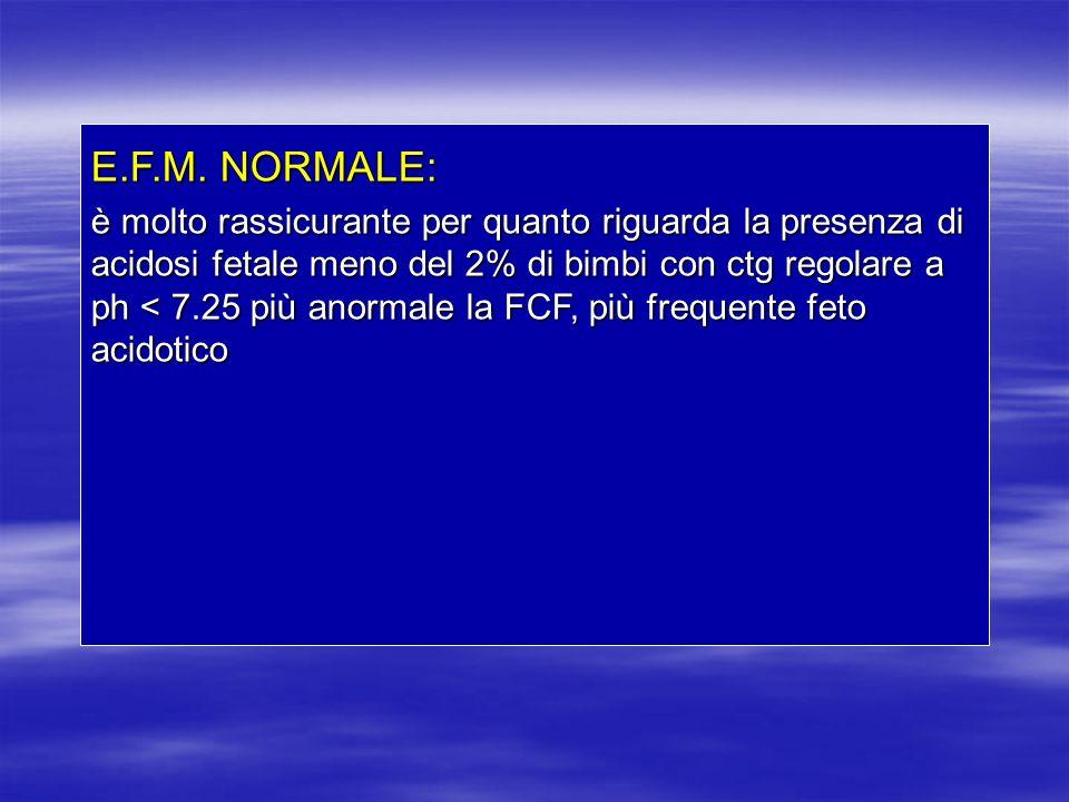 E.F.M. NORMALE: