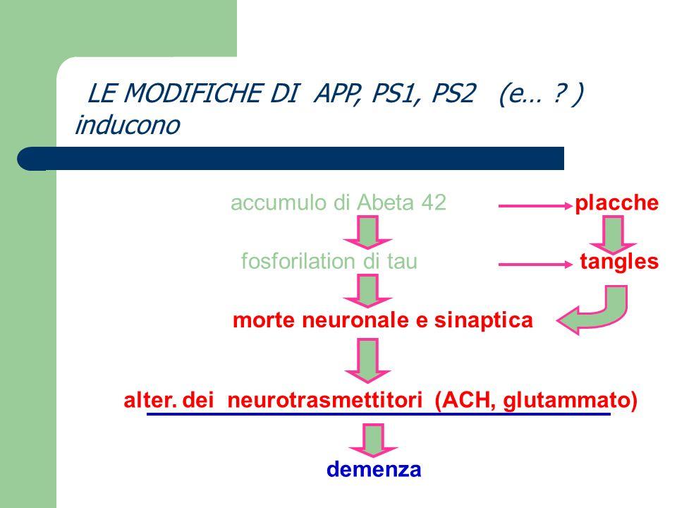 morte neuronale e sinaptica