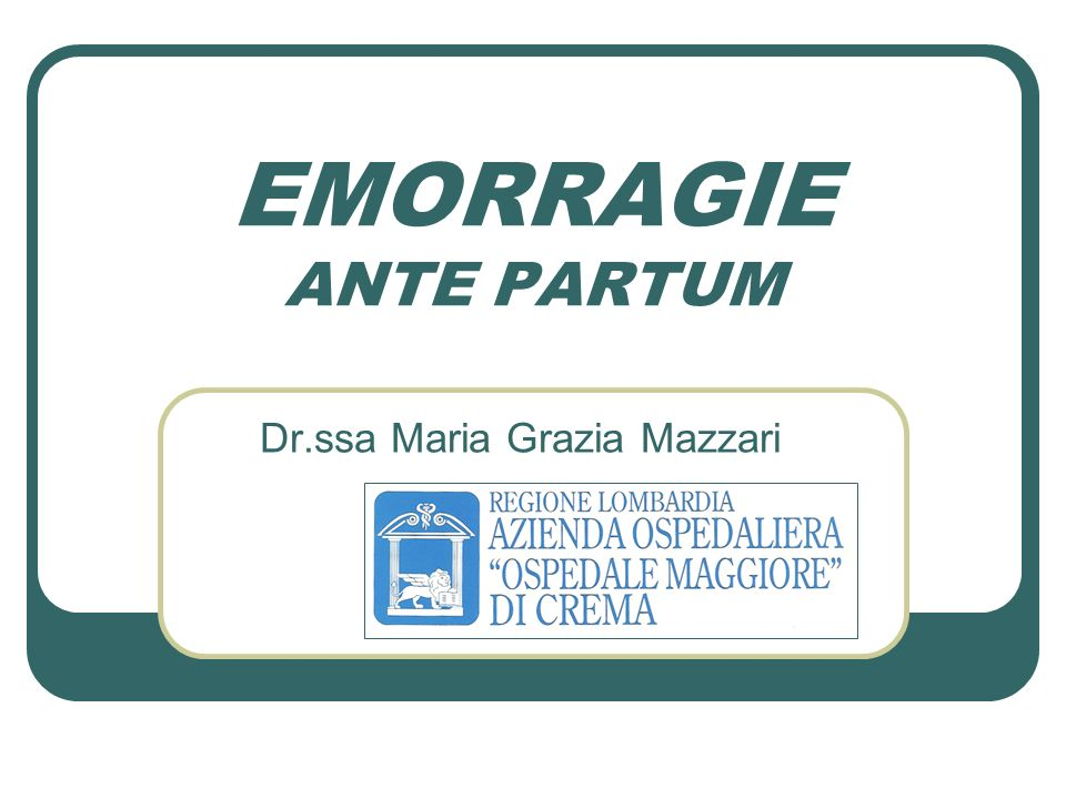 Dr.ssa Maria Grazia Mazzari