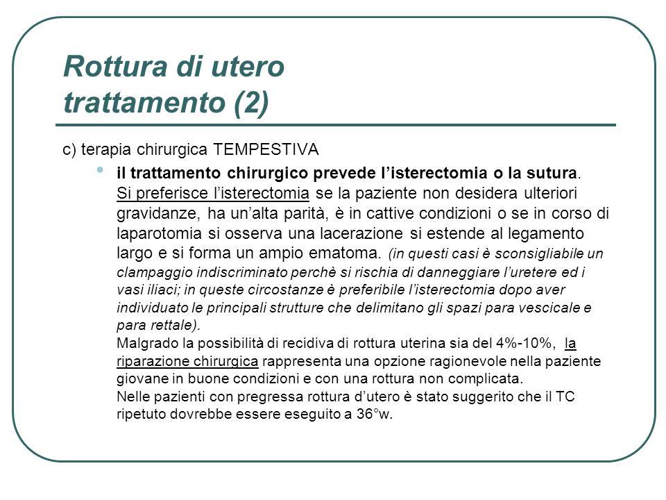 Rottura di utero trattamento (2)