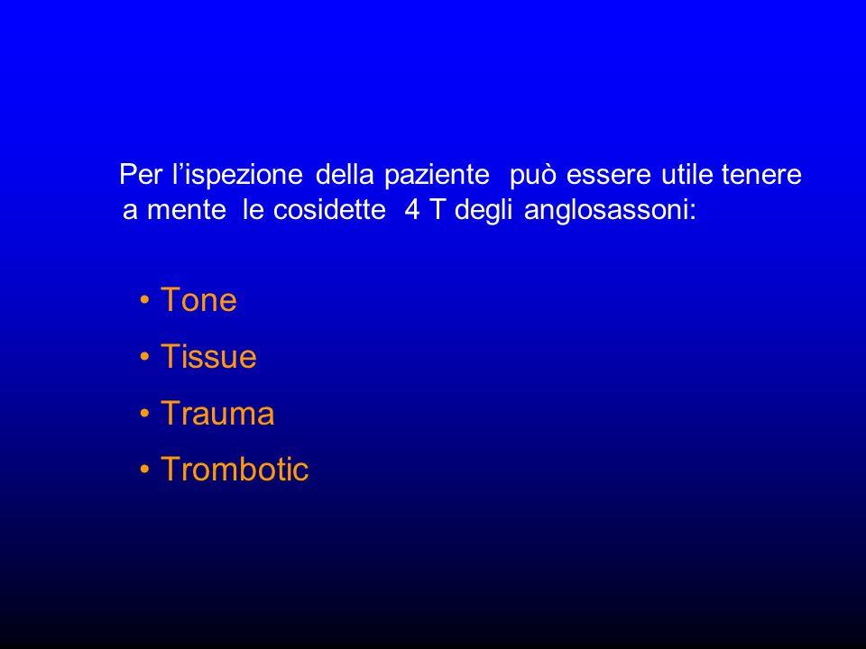 Tone Tissue Trauma Trombotic