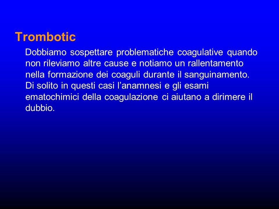 Trombotic