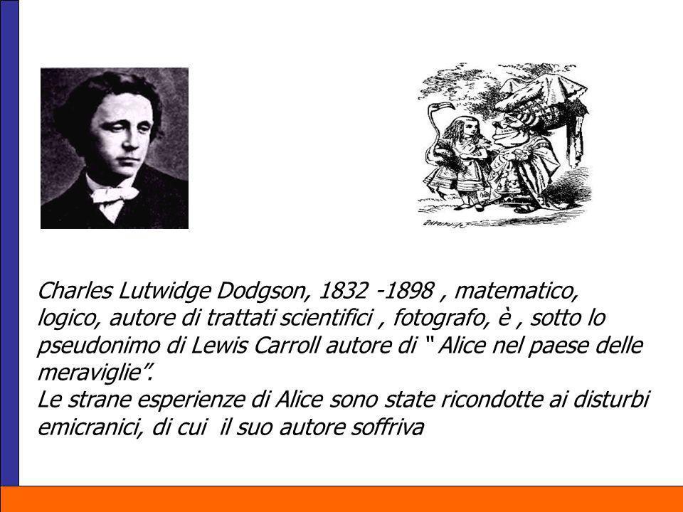 Charles Lutwidge Dodgson, 1832 -1898 , matematico,
