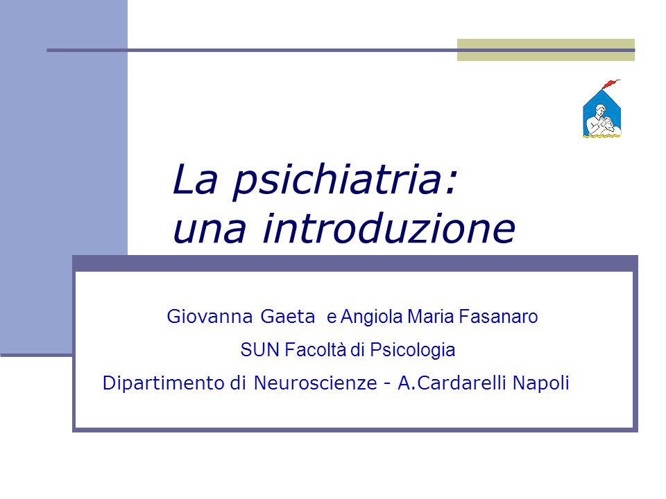 La psichiatria: una introduzione