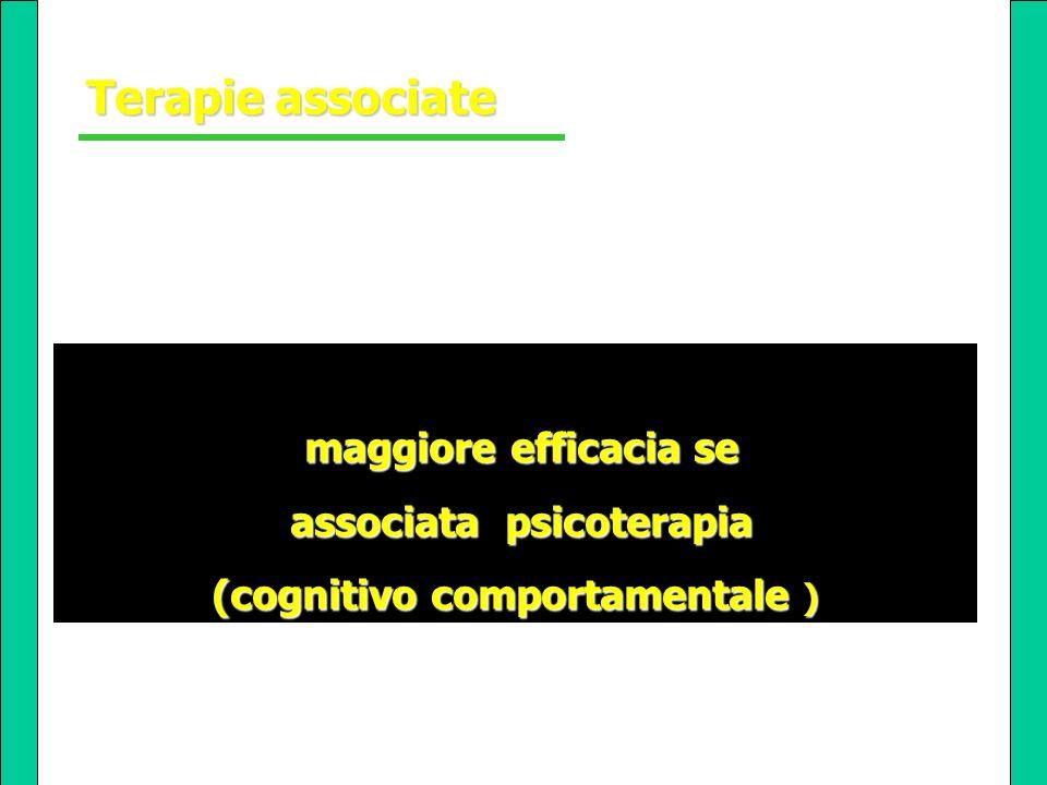 associata psicoterapia (cognitivo comportamentale )