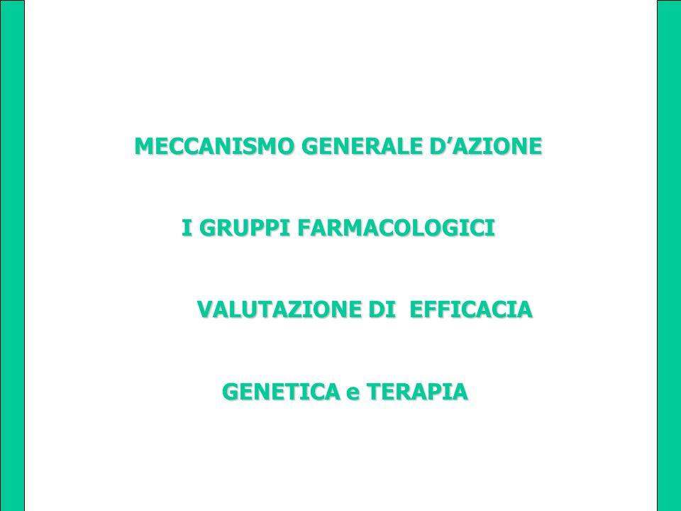 MECCANISMO GENERALE D'AZIONE