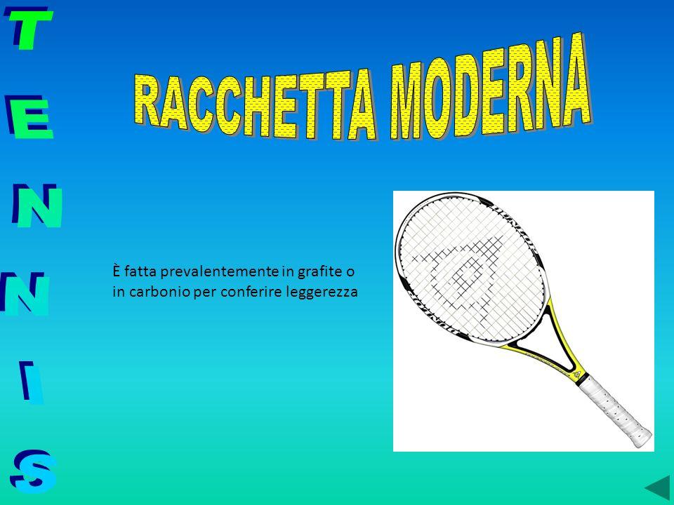 RACCHETTA MODERNA TENNIS