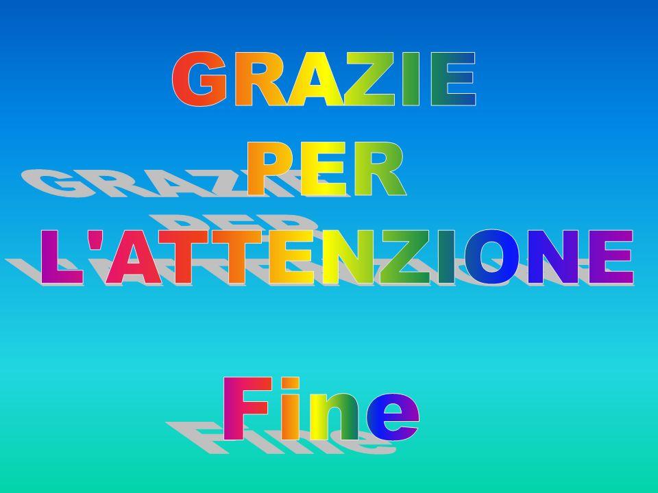 GRAZIE PER L ATTENZIONE Fine