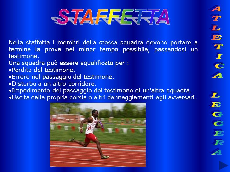 STAFFETTA ATLETICA LEGGERA