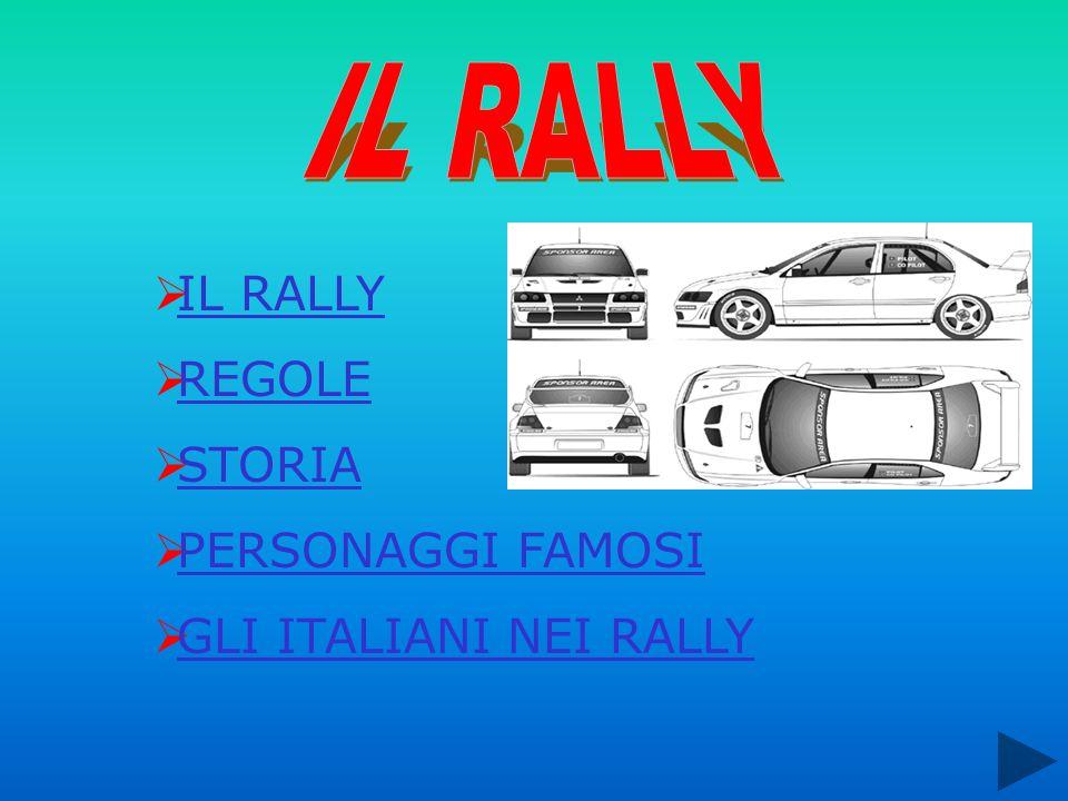 IL RALLY IL RALLY REGOLE STORIA PERSONAGGI FAMOSI