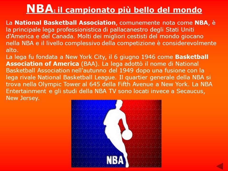 NBA: il campionato più bello del mondo