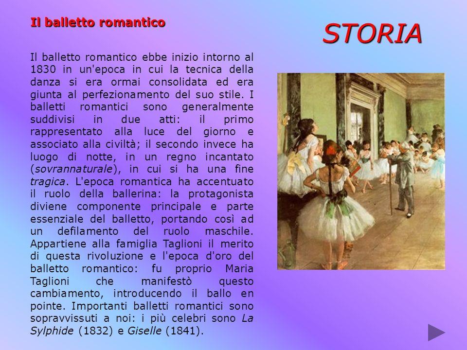 STORIA Il balletto romantico