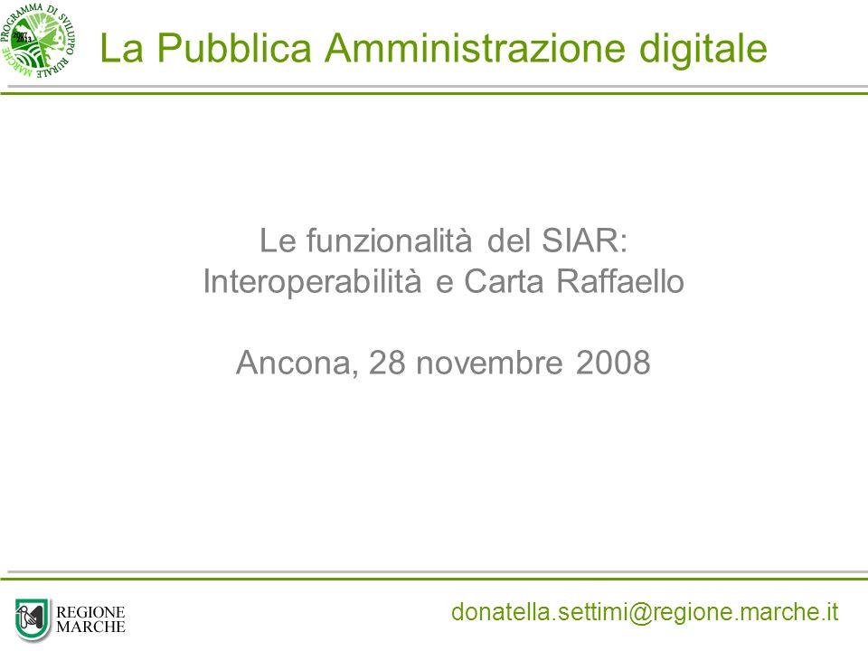 La Pubblica Amministrazione digitale