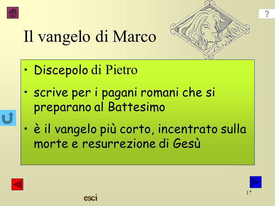 Il vangelo di Marco Discepolo di Pietro
