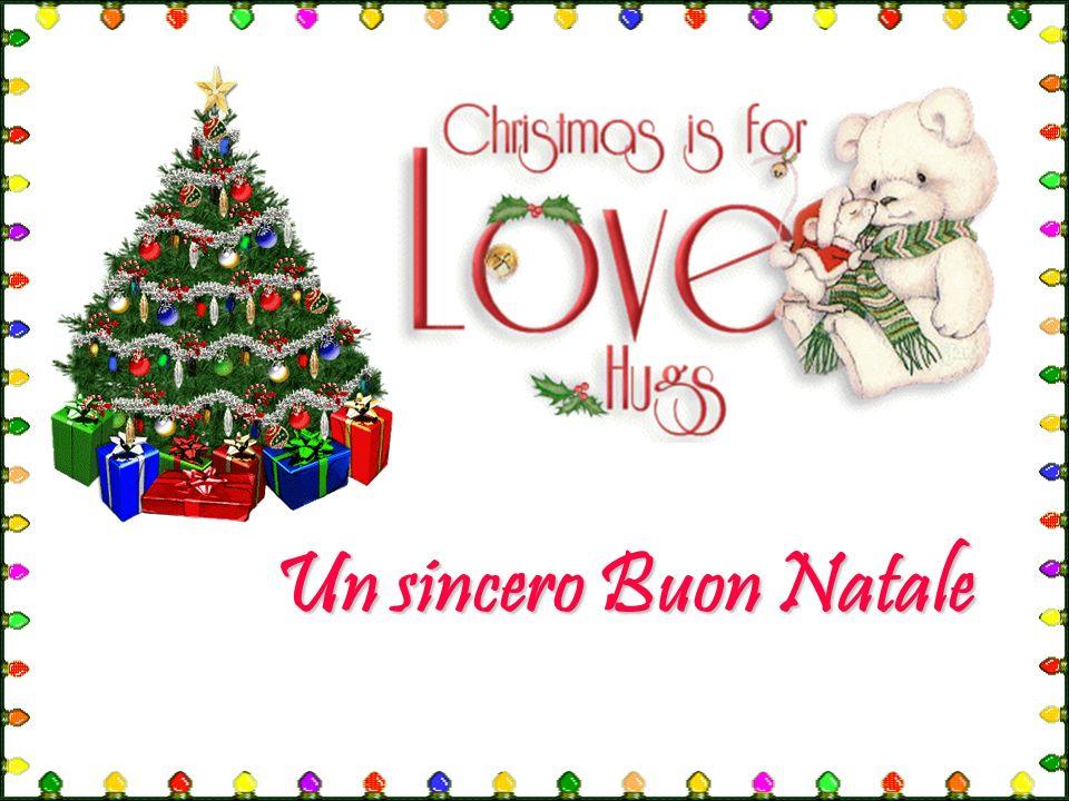 Un sincero Buon Natale