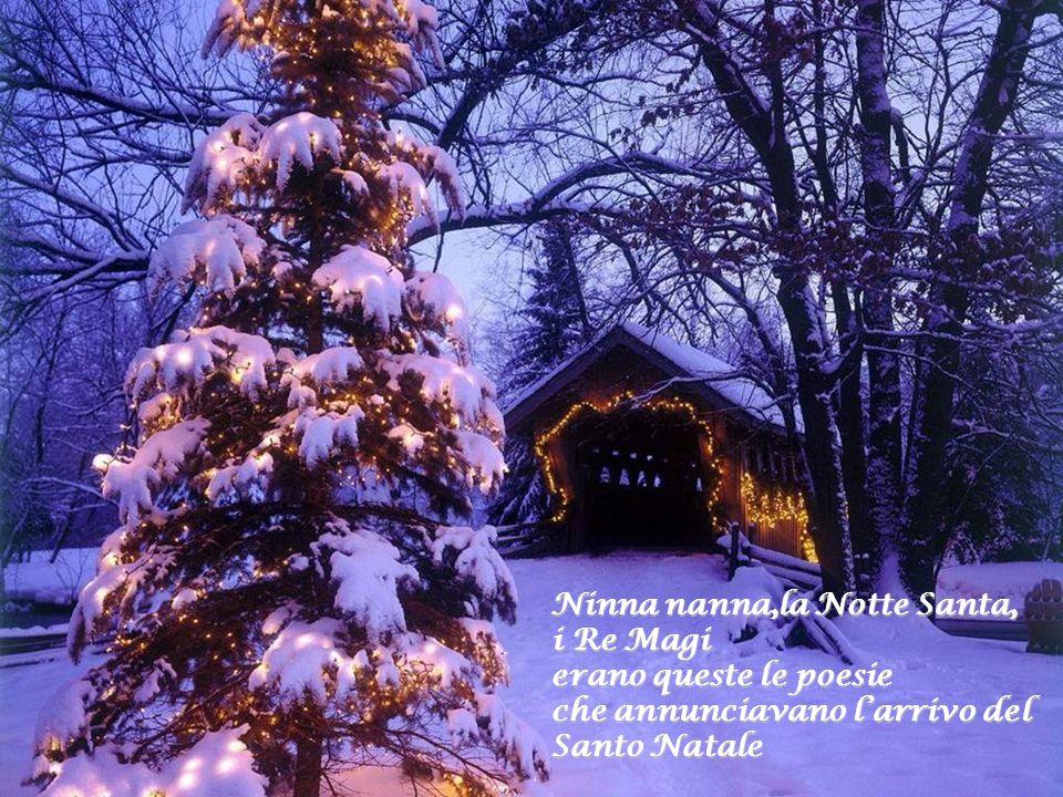 Ninna nanna,la Notte Santa,