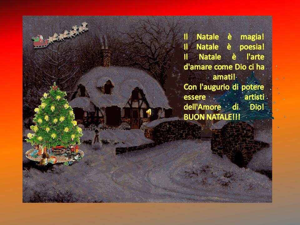 Il Natale è magia. Il Natale è poesia