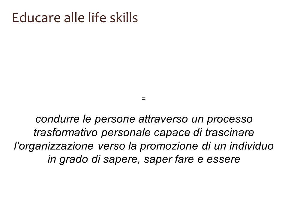 Educare alle life skills