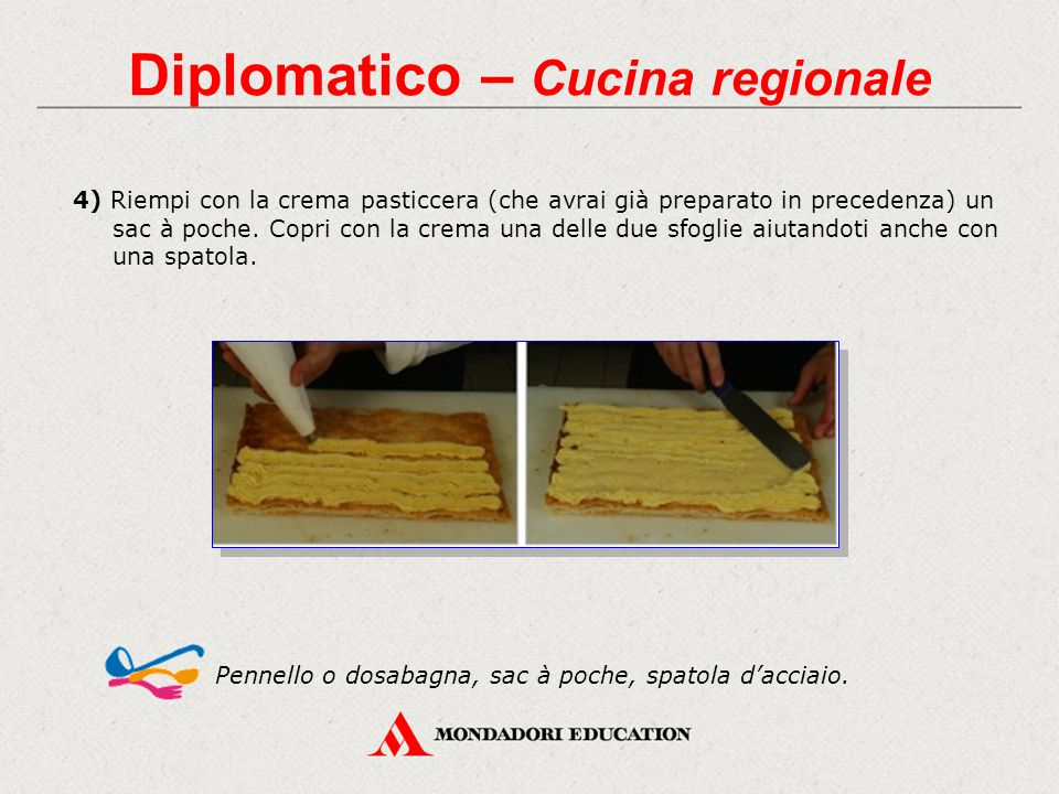 Diplomatico – Cucina regionale