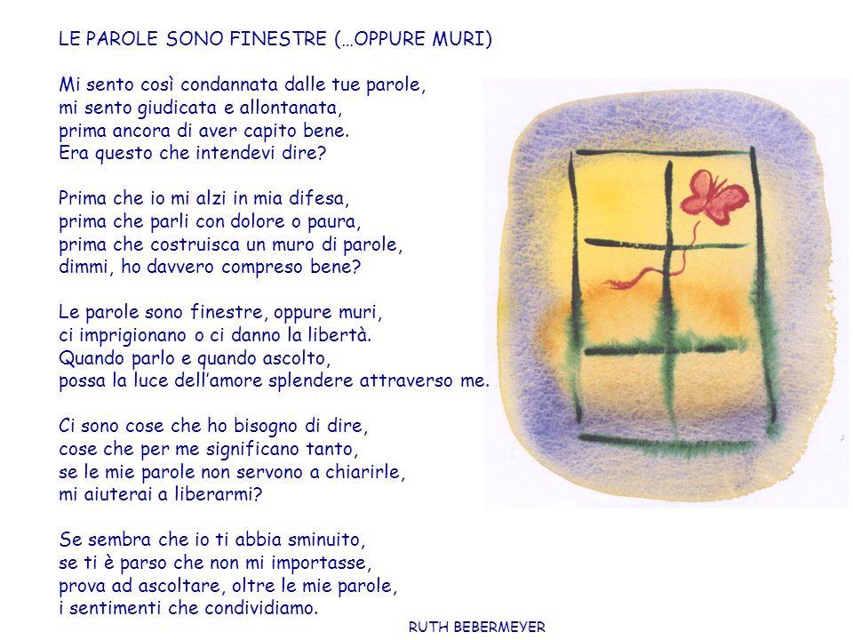 LE PAROLE SONO FINESTRE (…OPPURE MURI)