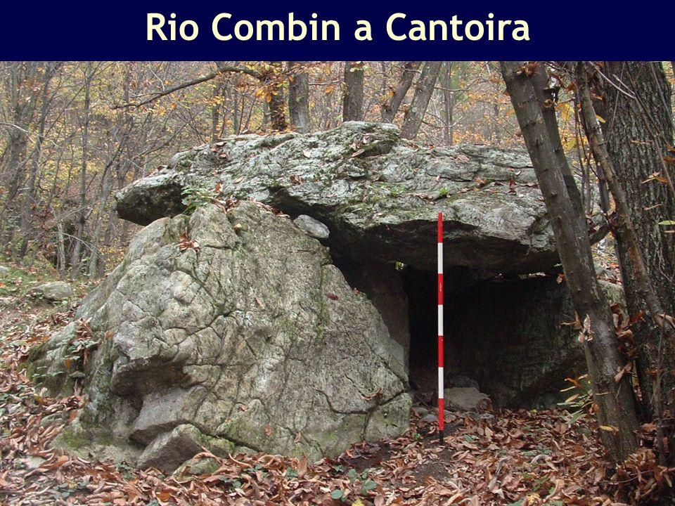Rio Combin a Cantoira