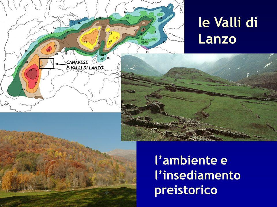 le Valli di Lanzo l'ambiente e l'insediamento preistorico