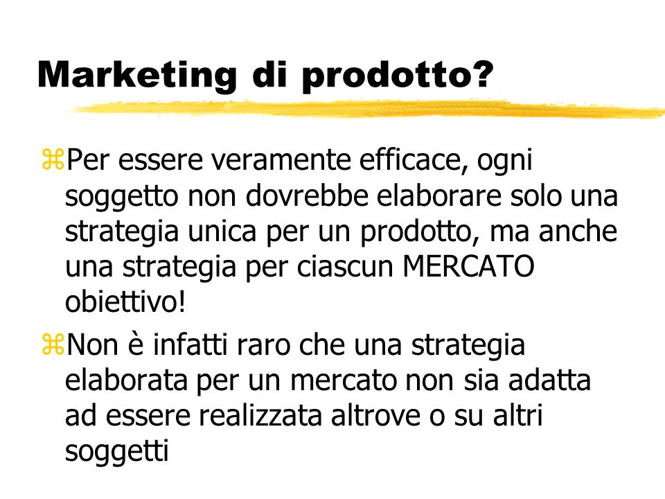 Marketing di prodotto