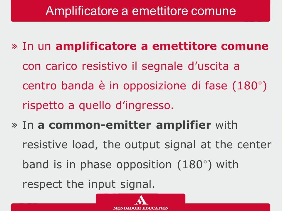 Amplificatore a emettitore comune