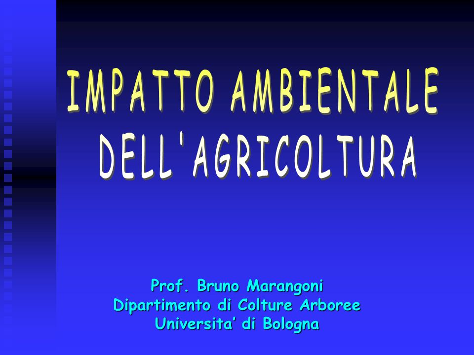 Dipartimento di Colture Arboree Universita' di Bologna