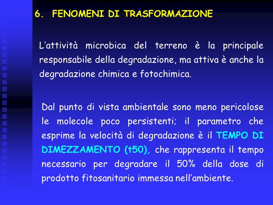 FENOMENI DI TRASFORMAZIONE